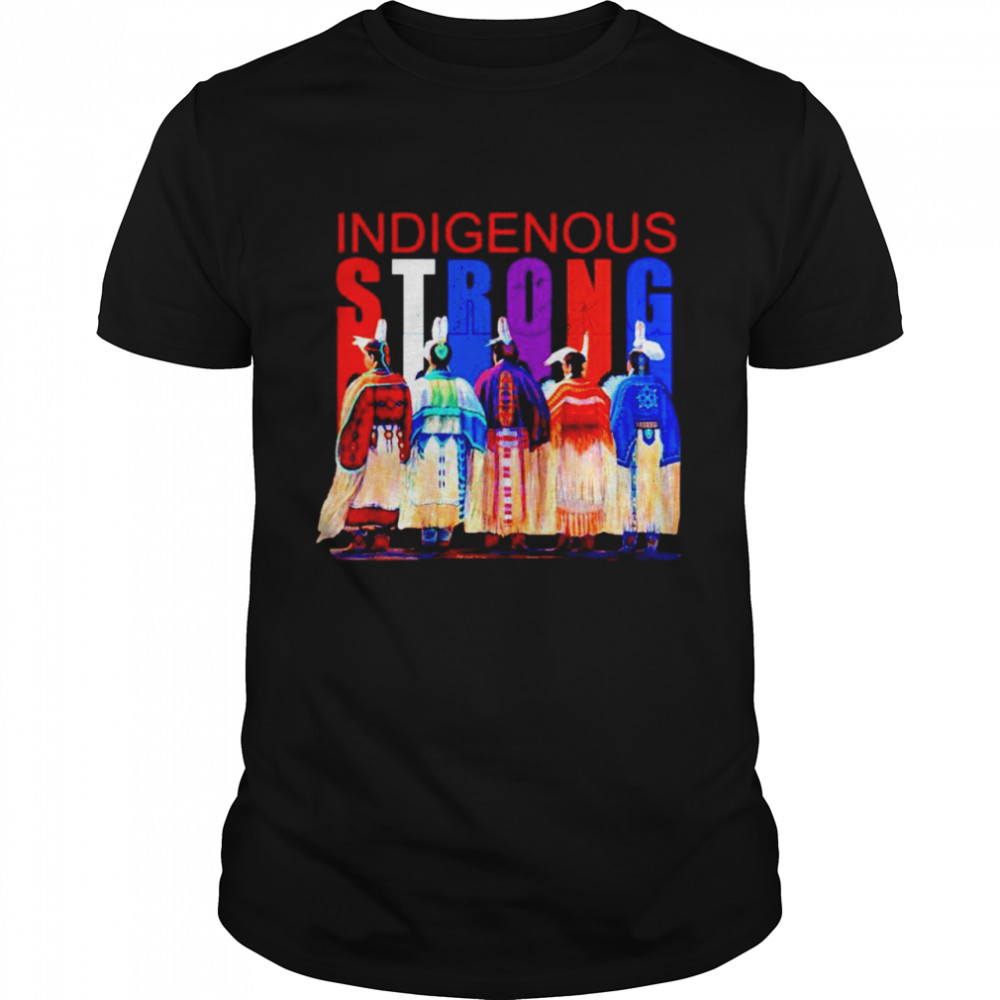 Native Indigenous Strong shirt Classic Men's T-shirt