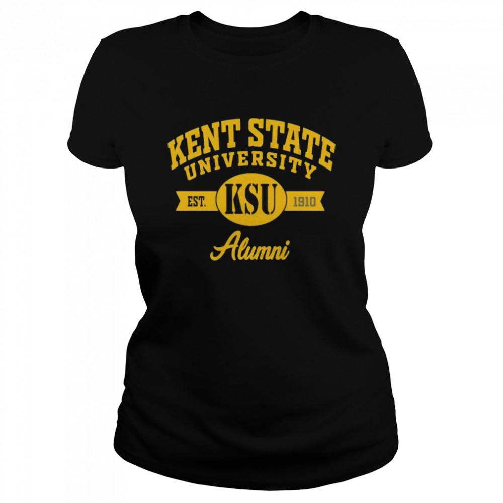 Kent State University Alumni 1910  Classic Women's T-shirt