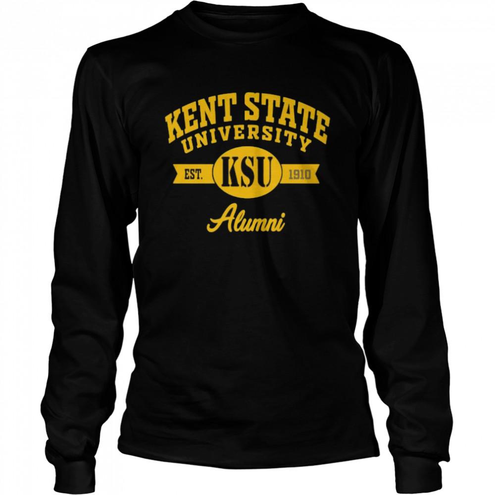 Kent State University Alumni 1910  Long Sleeved T-shirt