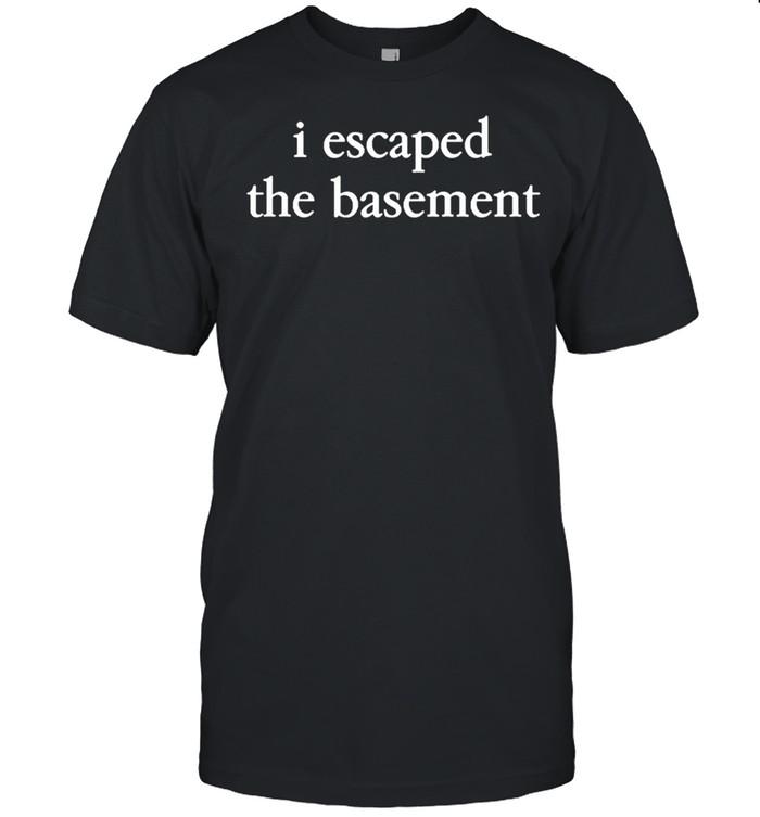 Darren criss I escaped the basement shirt Classic Men's T-shirt