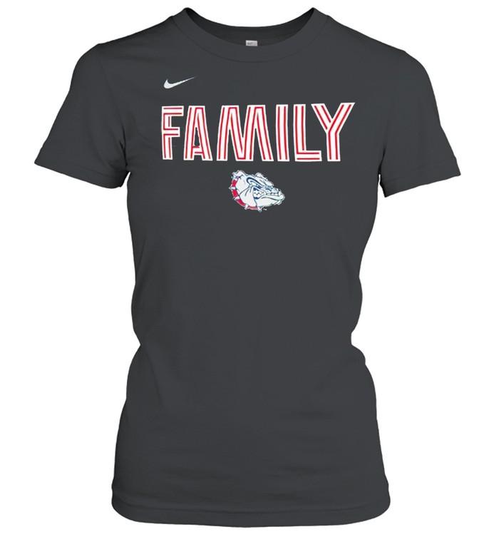 Gonzaga bulldogs nike 2021 NCAA men's basketball shirt Classic Women's T-shirt
