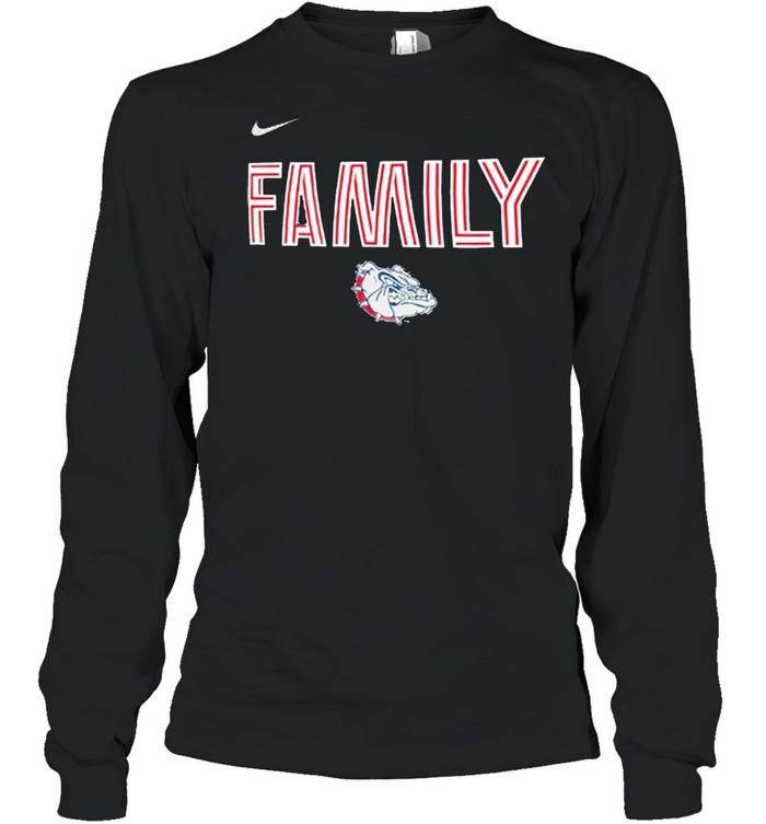 Gonzaga bulldogs nike 2021 NCAA men's basketball shirt Long Sleeved T-shirt