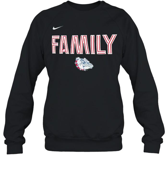 Gonzaga bulldogs nike 2021 NCAA men's basketball shirt Unisex Sweatshirt