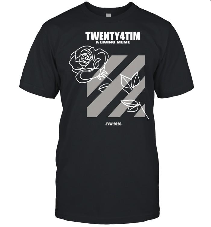 Twenty4tim Wonderful Rose shirt