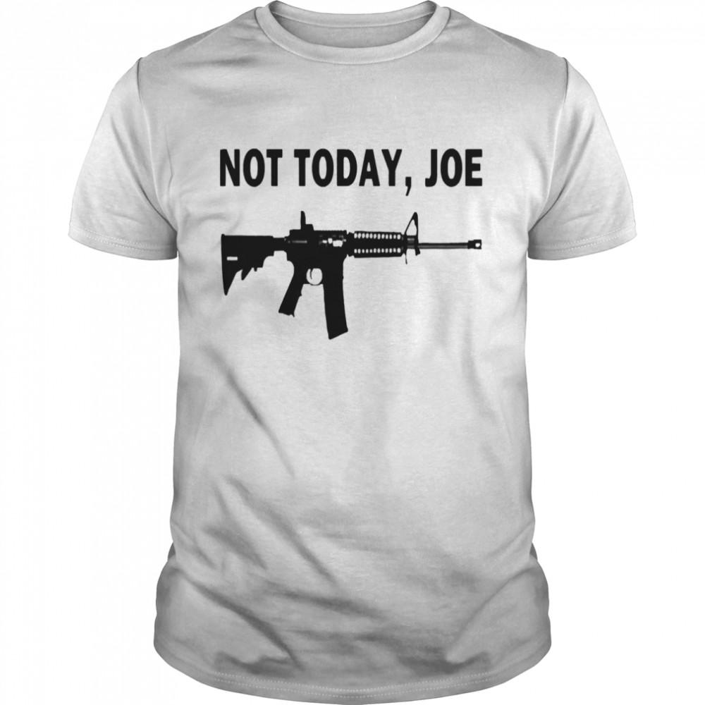 M4 carbine not today joe shirt Classic Men's T-shirt