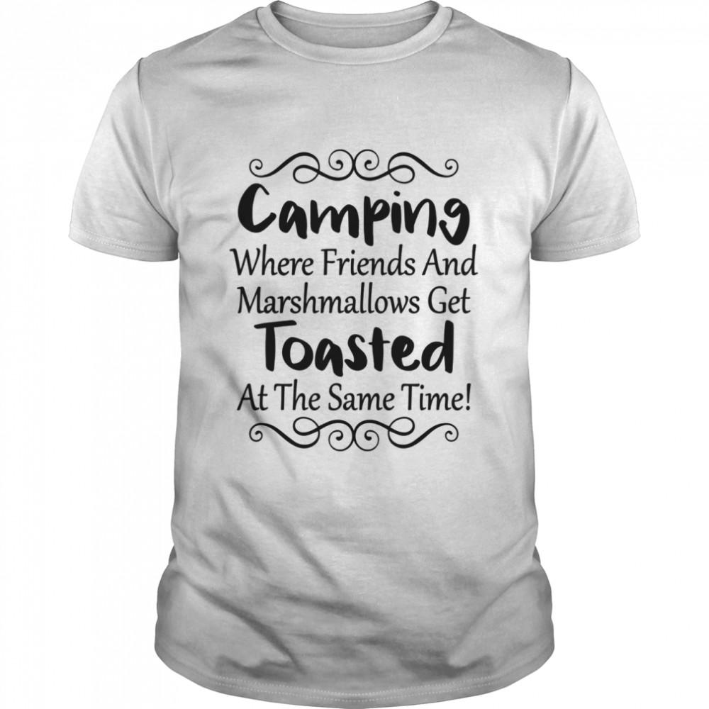 Outdoor Camping Friendss Travel Shirtư