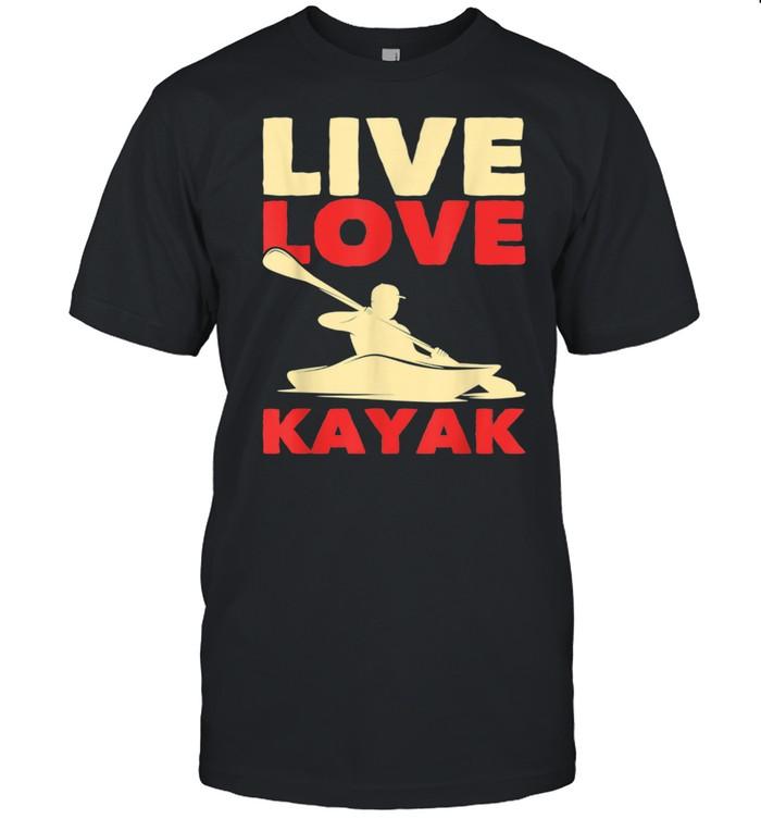 Canoe Paddle Kayaker Kayak Outdoor Kayaking Shirt