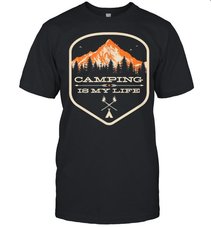 Camping Life  Camp Counselor  Camp Staff shirt Classic Men's T-shirt