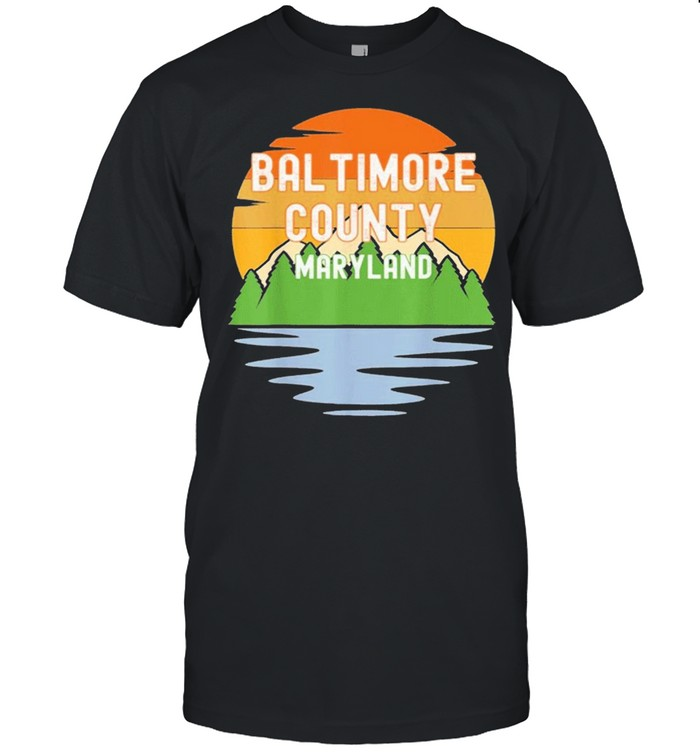 From baltimore county maryland vintage shirt