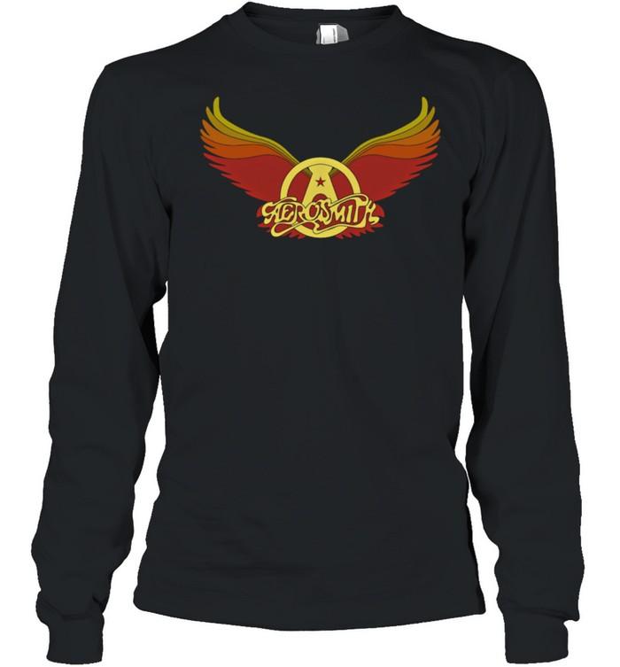 Aerosmith Vintage Wings shirt Long Sleeved T-shirt