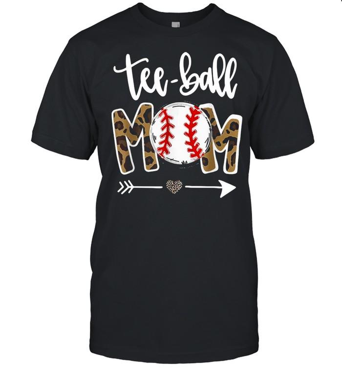 Mom Leopard Teeball Mom Mothers Day 2021 shirt