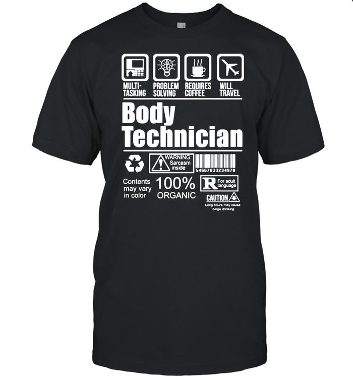 Body technician 100% organic shirt Classic Men's T-shirt