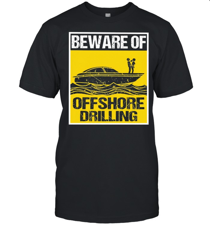 powerboat offshore drilling shirt Classic Men's T-shirt