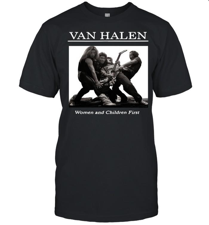 Rip Van Halen Women And Children First  Classic Men's T-shirt