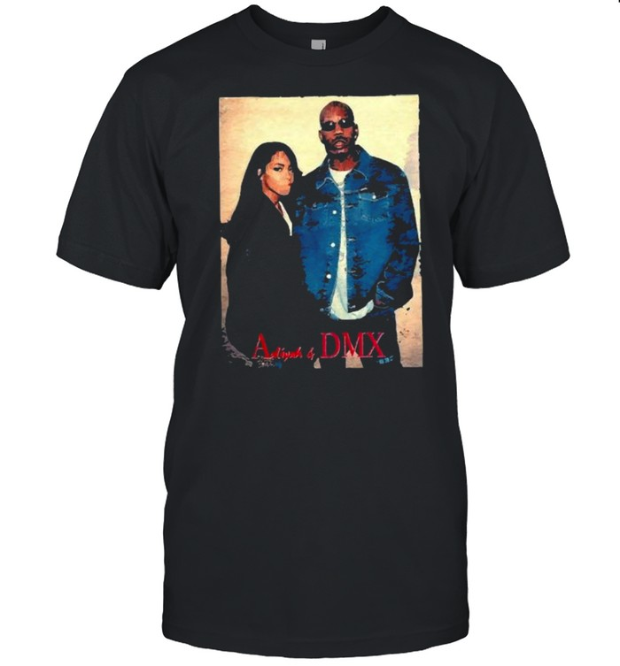 Vintage 90s Aaliyah With DMX Dogg  Classic Men's T-shirt
