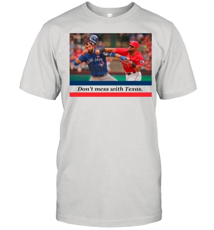 Odor Bautista Don't Mess With Texas shirt Classic Men's T-shirt