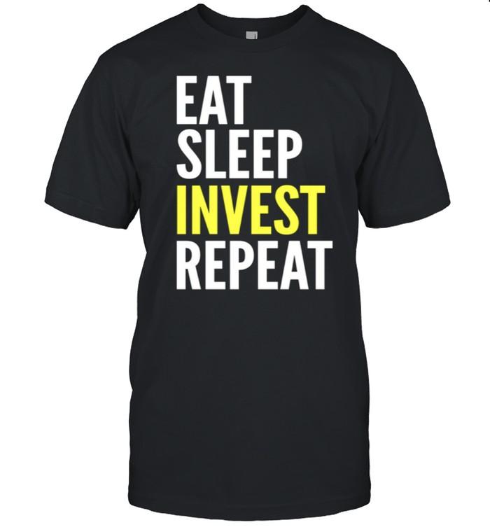 Eat Sleep Invest Repeat shirt Classic Men's T-shirt
