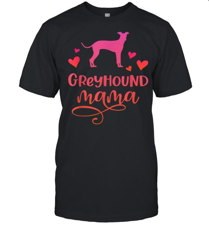 Greyhound Mama Dog Mum Greyhounds shirt Classic Men's T-shirt