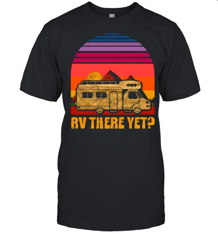 Rv There Yet Retro Sunset shirt Classic Men's T-shirt