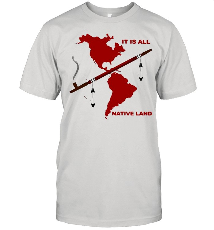 It Is All Native Land  Classic Men's T-shirt