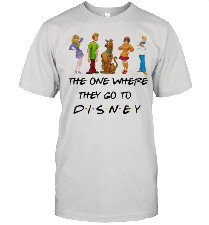 The One Where They Go To Disney Scooby Doo Movie  Classic Men's T-shirt