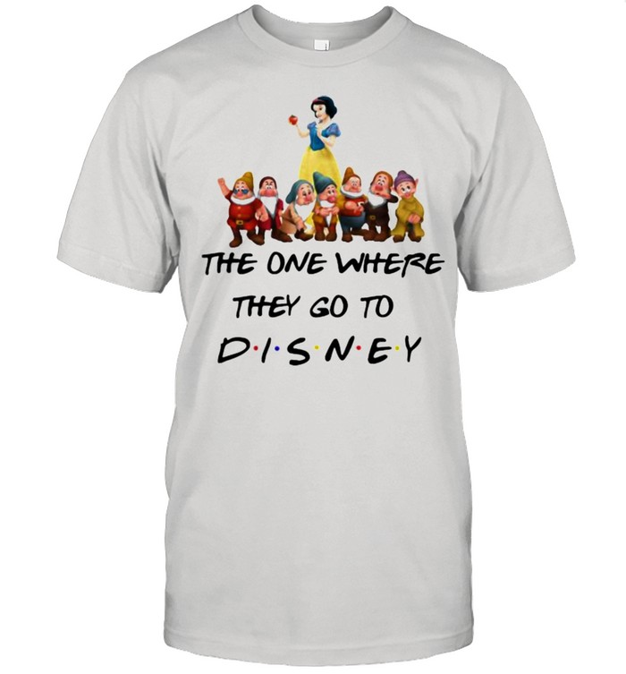 The One Where They Go To Disney Snow White And 7D Movie  Classic Men's T-shirt