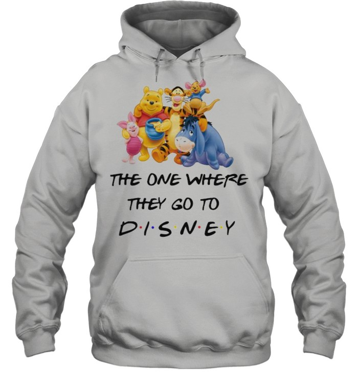 The One Where They Go To Disney Winnie The Pooh Movie Unisex Hoodie
