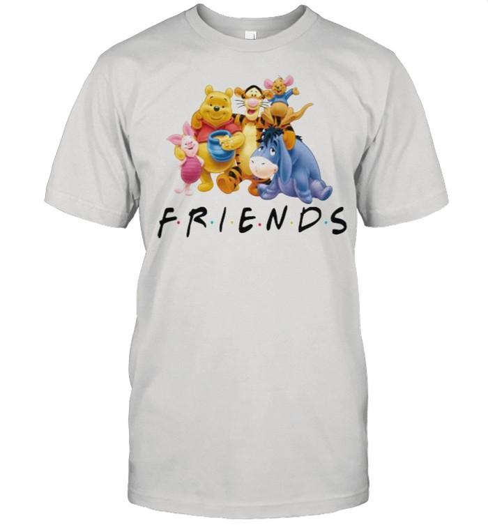 Winnie The Pooh Friends Disney  Classic Men's T-shirt