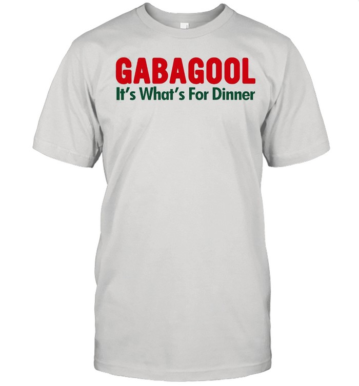 Gabagool its whats for dinner shirt Classic Men's T-shirt