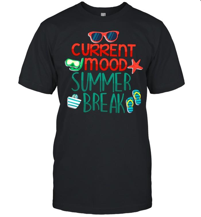 Current Mood Summer Break shirt Classic Men's T-shirt