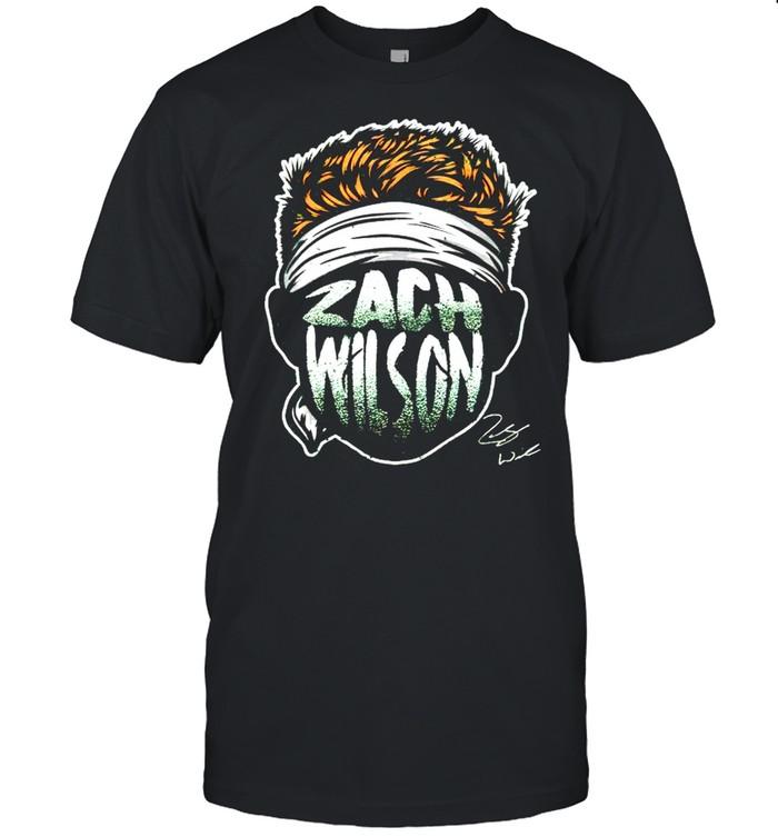 Zach Wilson Player Silhouette signature shirt Classic Men's T-shirt