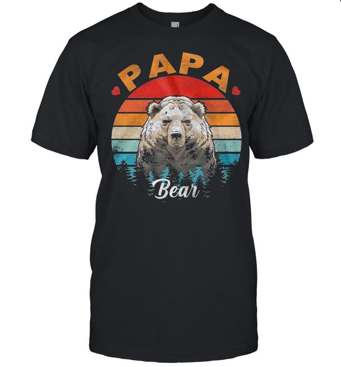 Papa Bear Vintage shirt Classic Men's T-shirt