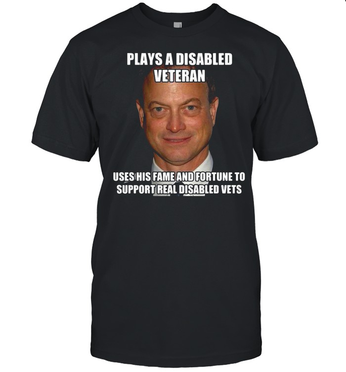 Plays A Disabled Veteran Uses His Fame And Fortune To Support Real Disabled Vets T-shirt Classic Men's T-shirt
