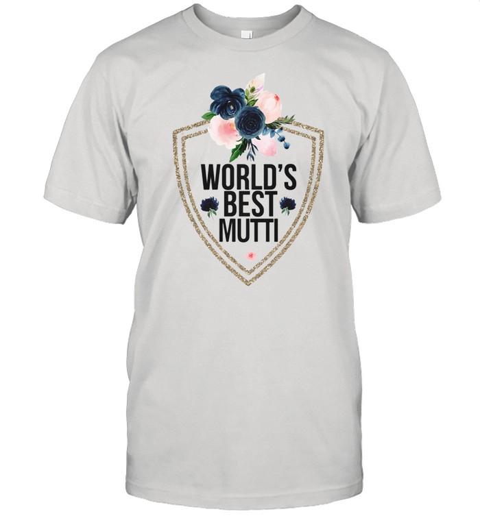 Awesome Worlds Beest Mutti Flower shirt Classic Men's T-shirt