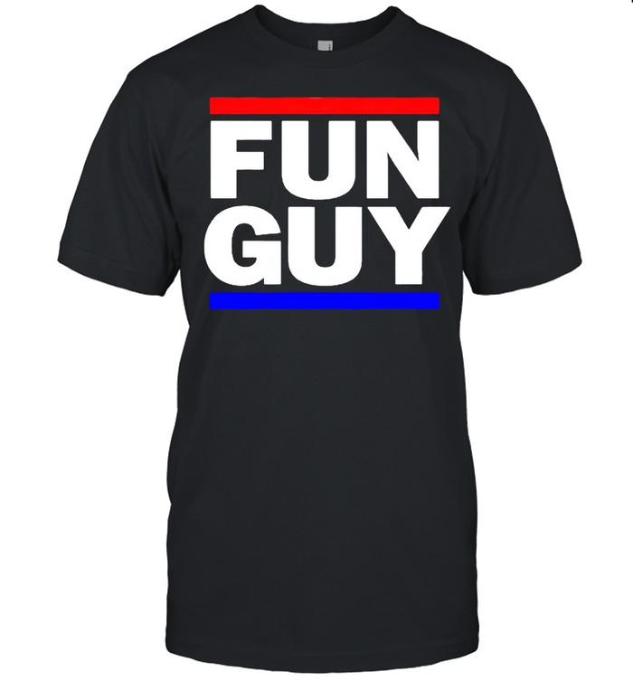 fun guy shirt Classic Men's T-shirt