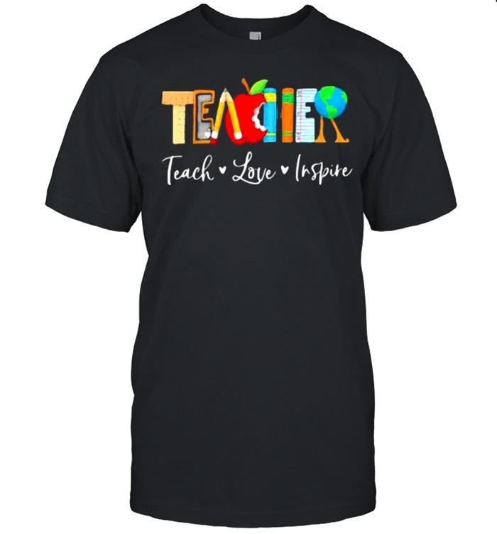 Teach Love Inspire  Classic Men's T-shirt