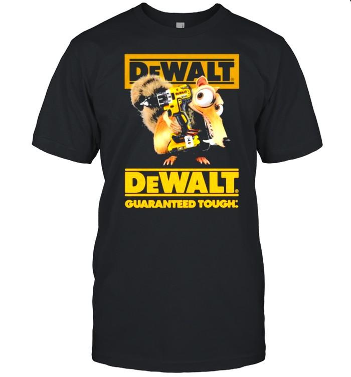 Dewalt Guaranteed Tough Scrat  Classic Men's T-shirt