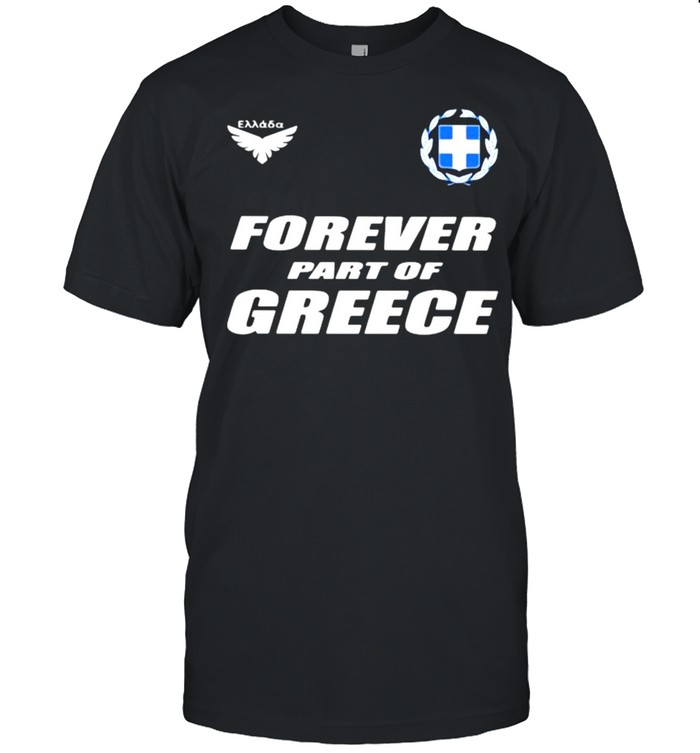 Forever Part Of Greece  Classic Men's T-shirt