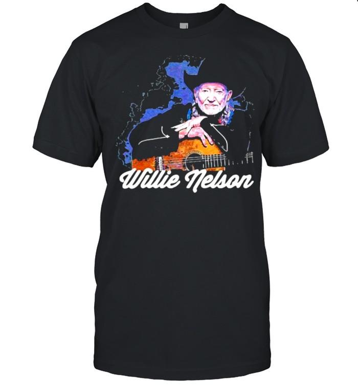 Legend Music Willie Nelson  Classic Men's T-shirt