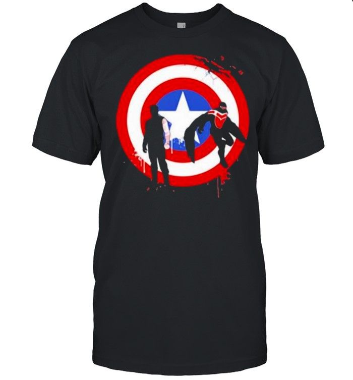 The falcon and the winter soldier logo captain america shirt Classic Men's T-shirt