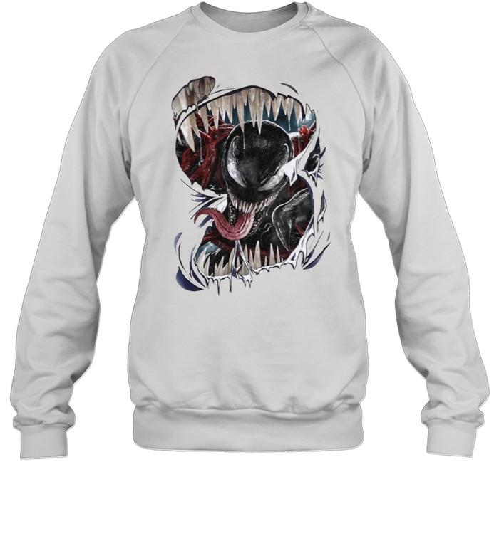 Let there be carnage venom carnage 2021 shirt Unisex Sweatshirt