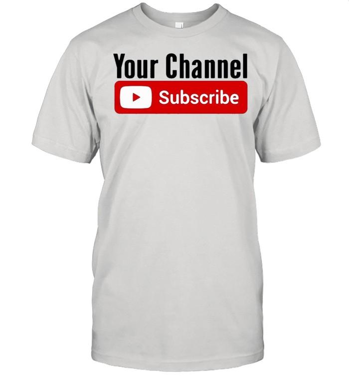 Subscribe YouTube shirt Classic Men's T-shirt
