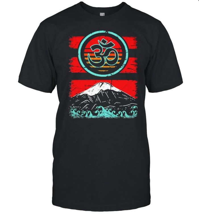Om Ohm Symbol Retro  Classic Men's T-shirt