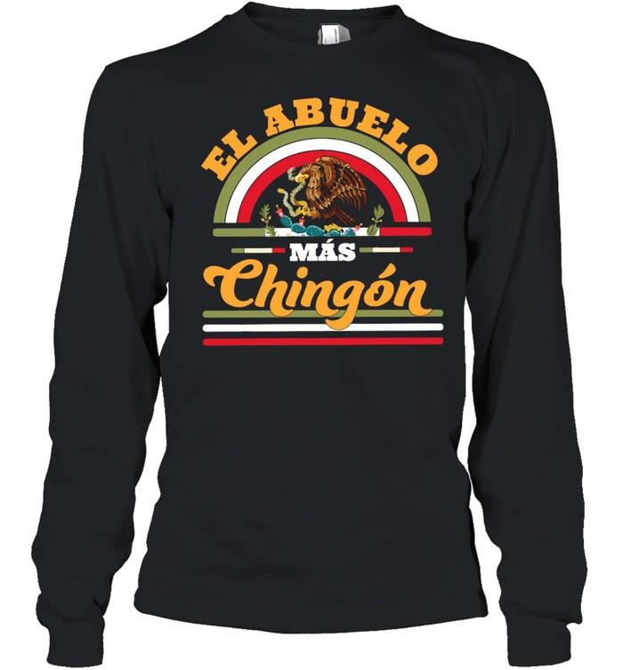 El Abuelo Mas Chingon Premium  Long Sleeved T-shirt