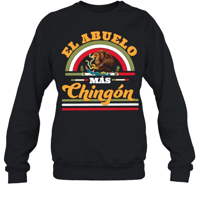 El Abuelo Mas Chingon Premium  Unisex Sweatshirt