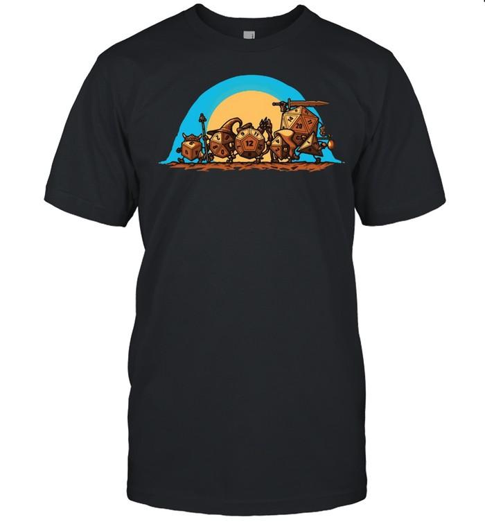 Fellowship Of The Dungeon  Classic Men's T-shirt