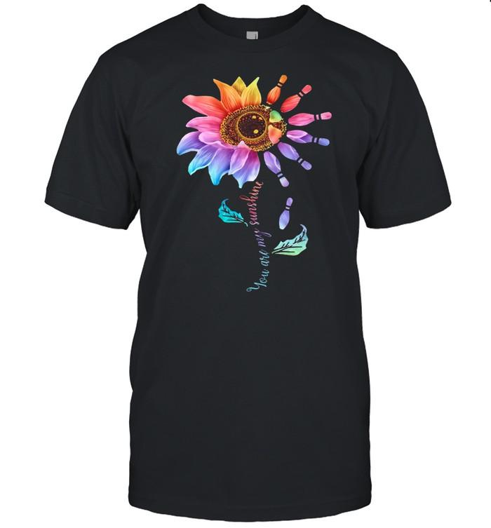 Bowling Sunflower You Are My Sunshine shirt Classic Men's T-shirt