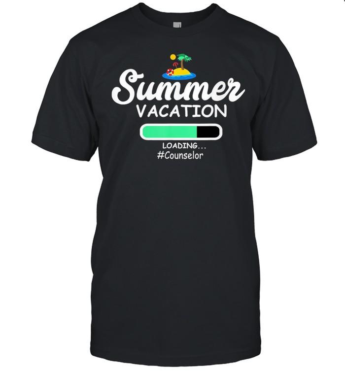 Summer Vacation Loading Counselor shirt Classic Men's T-shirt