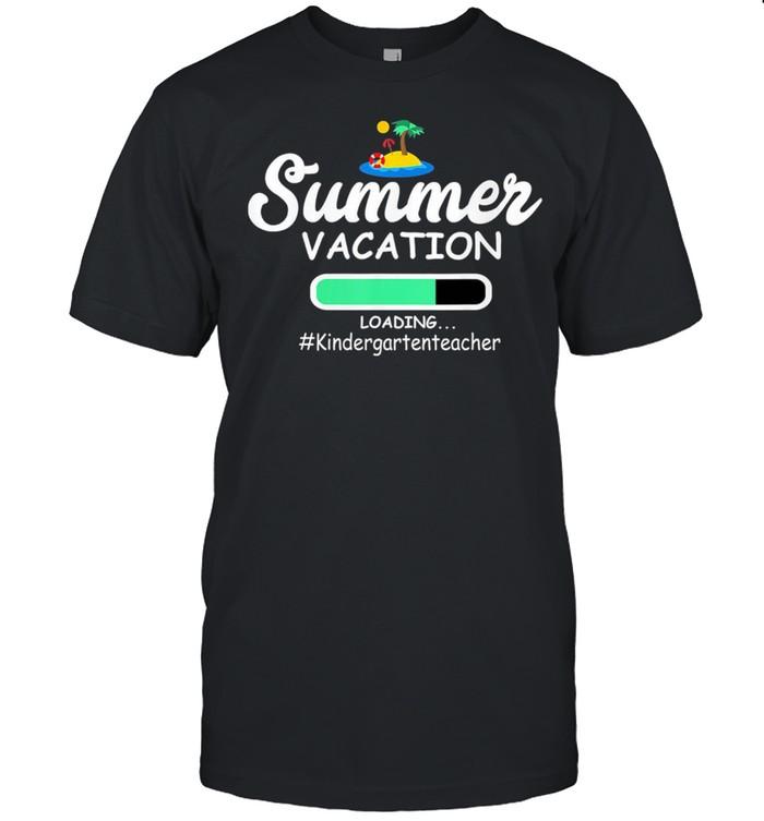 Summer Vacation Loading Kindergartenteacher shirt Classic Men's T-shirt