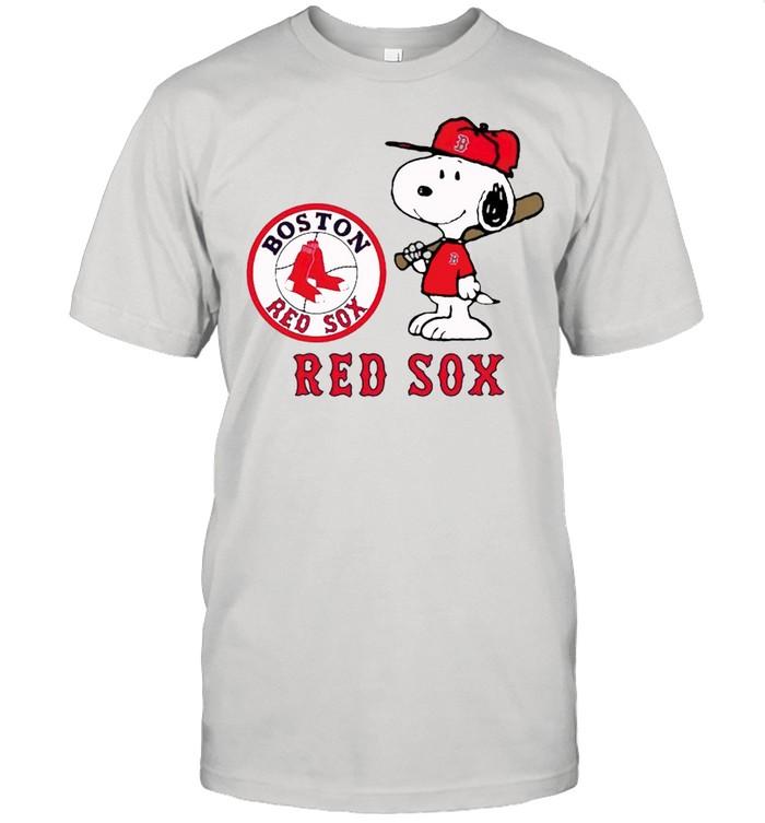 Boston Red Sox Snoopy players shirt Classic Men's T-shirt